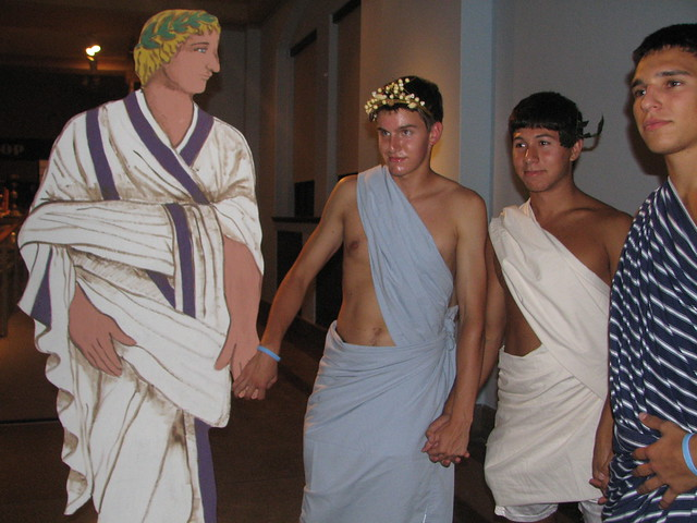 How To Make A Guy Toga Nobody is a wal...