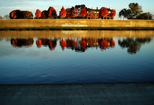 autumn light ohio sunrise sweet dayton instamatic greatmiamiriver digitography riverscapemetropark