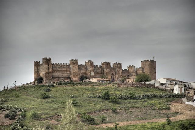 Castillo de burgalimar o bury al hamma ba os de la encina ja n spain a photo on flickriver - Castillo de banos de la encina ...