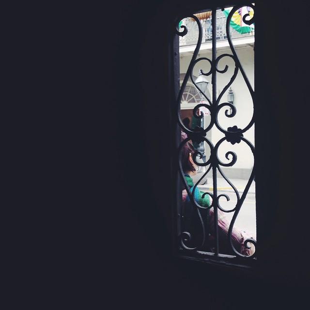 through the window in nola