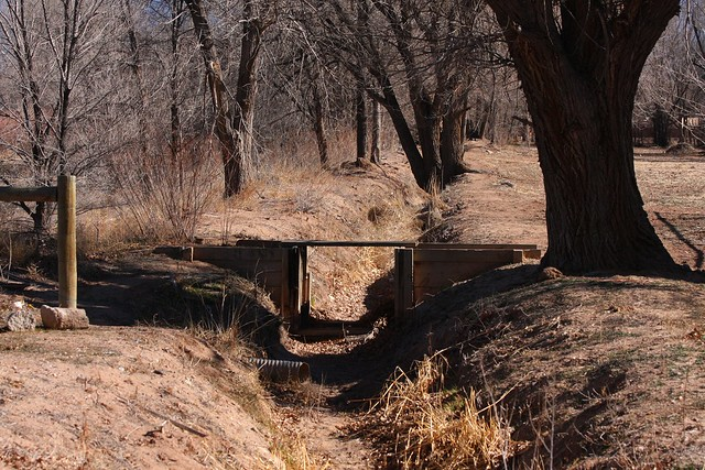 Acequia (irrigation ditch)