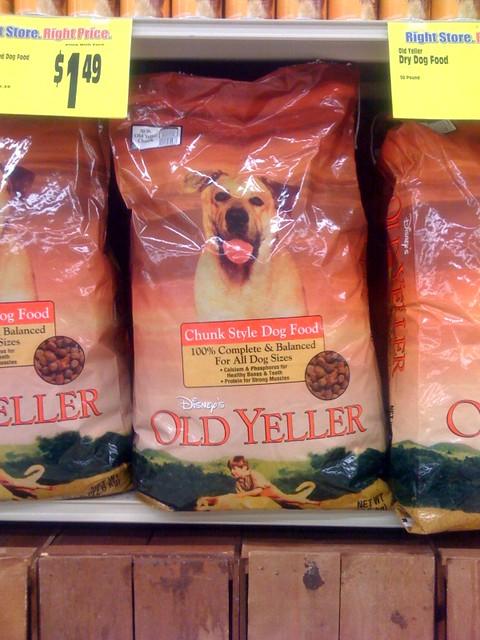 Old Yeller Dog Food Coupons