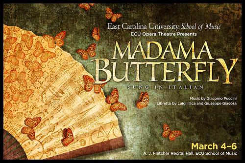 Madama Butterfly postcard