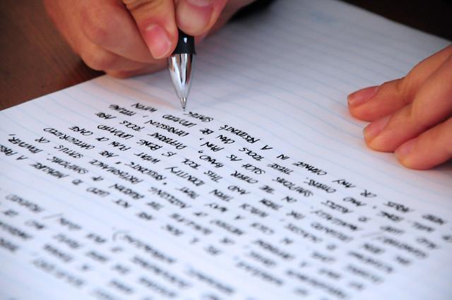 過目就忘,光是每天「讀」並不夠,每天「寫」才記的牢!