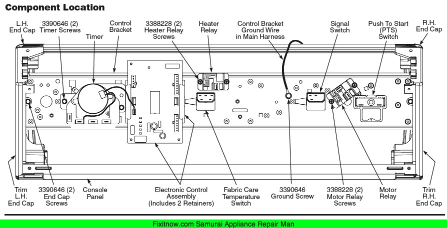 whirlpool cabrio platinum washer parts manual
