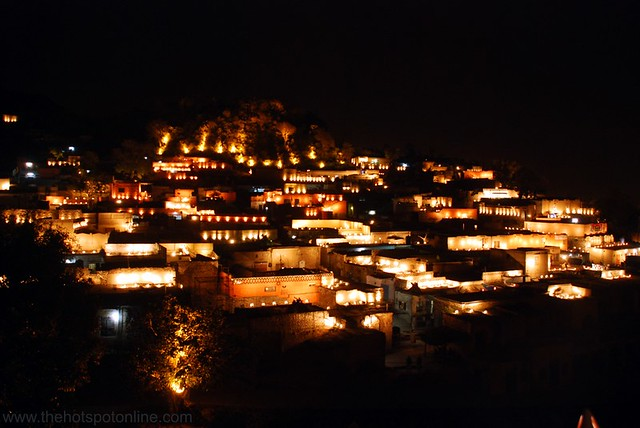 The Lights Come on at Saidpur Village - March 2009