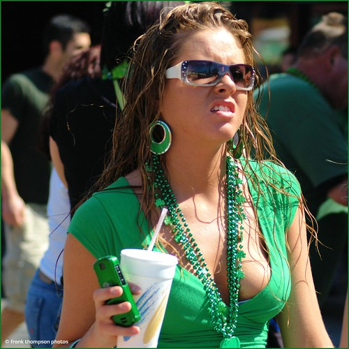 St Patrick's Day Candid - Kansas City
