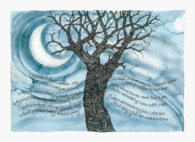 I Think That I Shall Never See Tree Poem