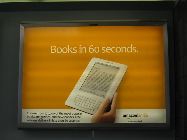 Kindle Ad - Chicago O'Hare