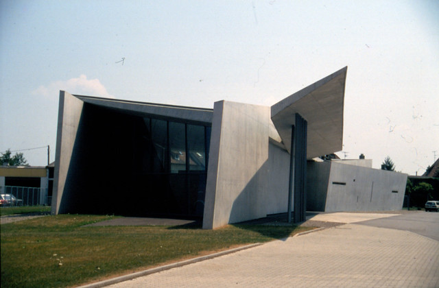 vitra fire station weil am rhein ge 1999 flickr photo sharing. Black Bedroom Furniture Sets. Home Design Ideas