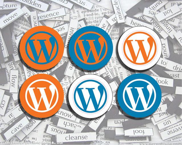 Photo:WordPress Stickers Everywhere By:teamstickergiant