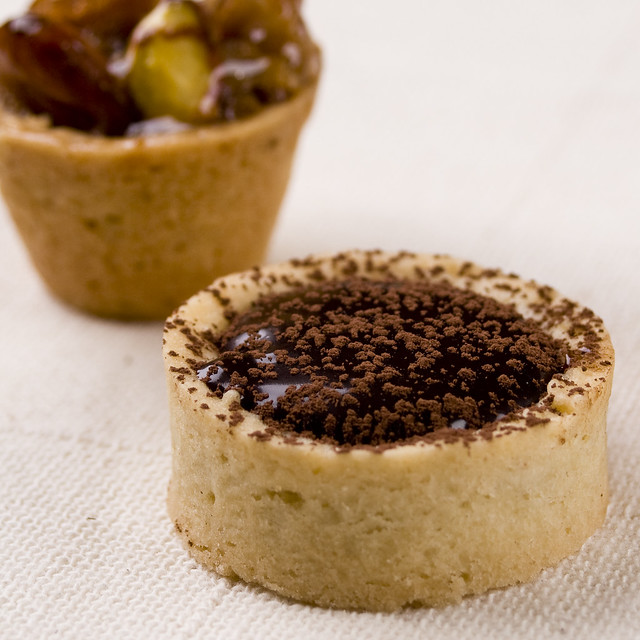 chocolate mini tart pot de miel flickr photo