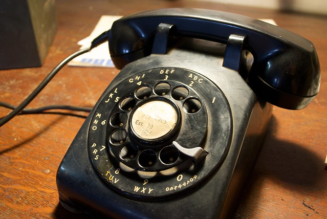 Old telephone flickr photo sharing for Other uses for household items