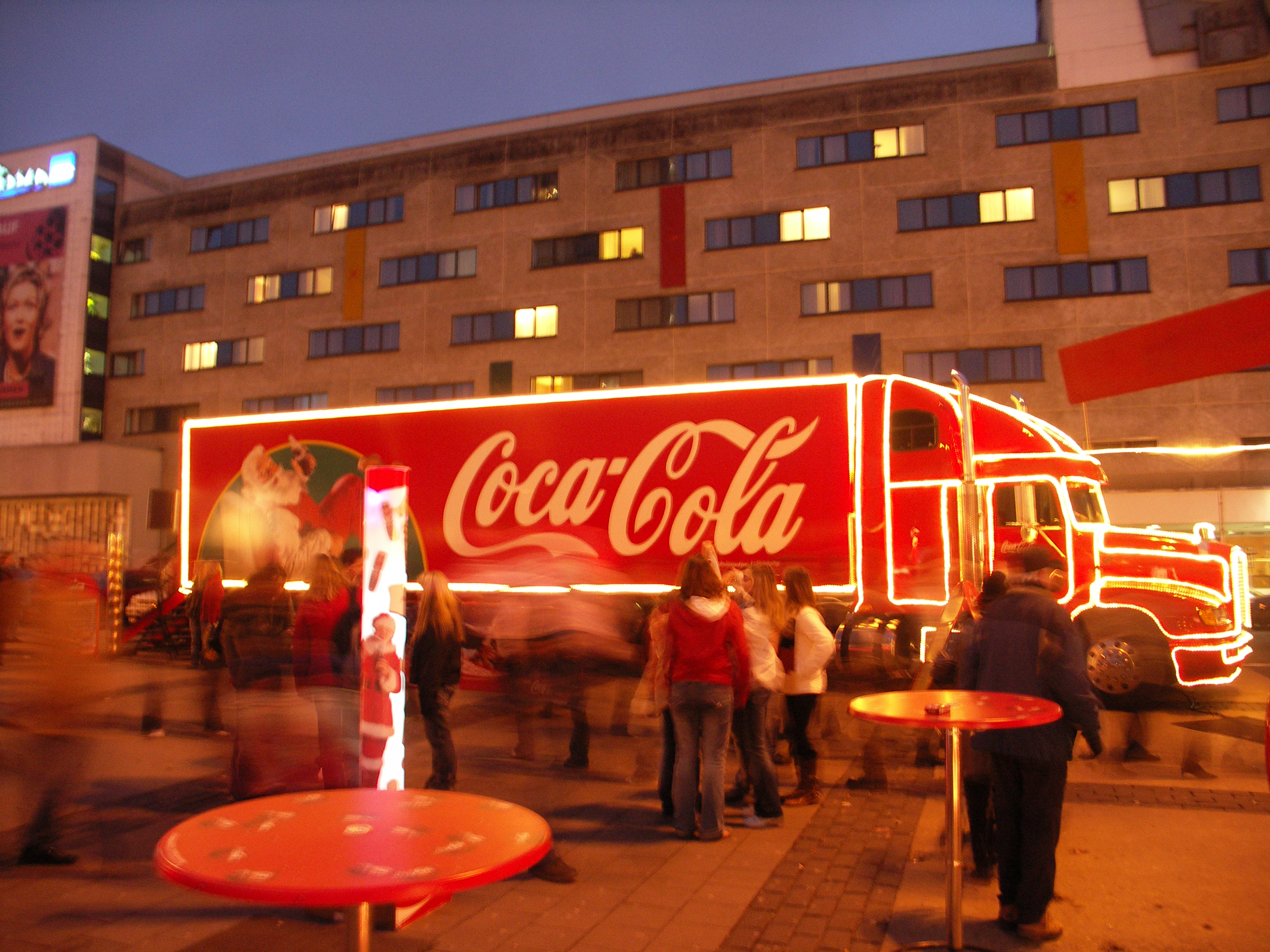Coca Cola Weihnachtstruck Wallpaper Original 3264 × 2448