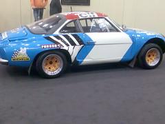 race car, automobile, vehicle, alpine a110, land vehicle, supercar, sports car,