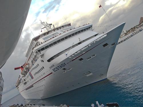 Carnival Cruise Ship Ecstasy by Walter G. Arce