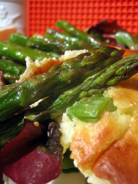 Cheese and Asparagus Souffle 032 | Flickr - Photo Sharing!