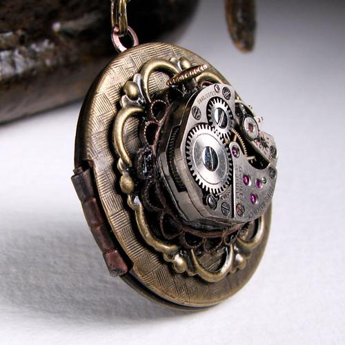 Steampunk Secrets Locket