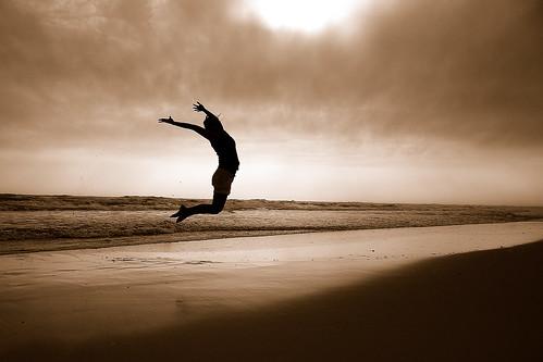 sea beach sepia clouds reflections fly jump nikon waves alabama excitement cgb gulfshores jumpshot perfectexposure gulfshoresalabama itraveleast masterpiececomposition jumpandyouwillfindouthowtounfoldyourwingsasyoufall charlottesjump