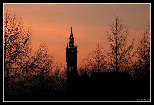 Glasgow Uni from Kelvingrove Park