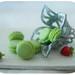 Macarons & Strawberries - Miniature food by Petite Framboise