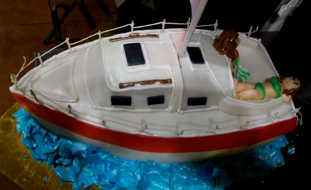 Cake Images Boat : sailing boat cake 2 Flickr - Photo Sharing!