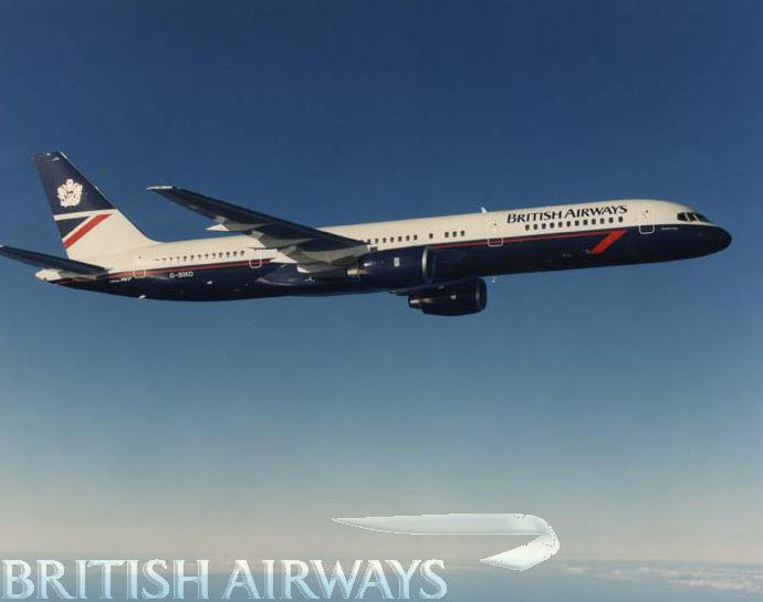 1980s - British Airways Boeing 757-236 G-BIKO