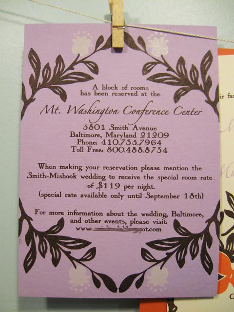 Megan Jacob 39s pomegranate wedding invitations