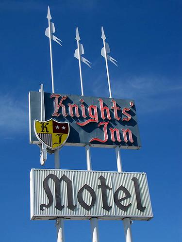 Knights' Inn Motel - Medford, Oregon