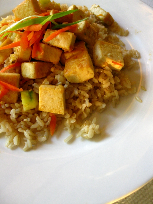 Tofu and Brown Rice Stir fry