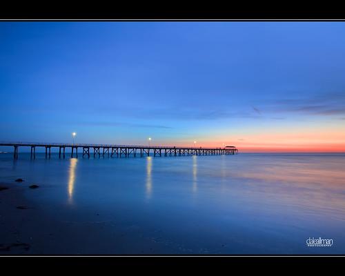 ocean sunset beach clouds canon lights sand dusk australia wideangle adelaide southaustralia dri grange 1740 3xp photomatix grangejetty grangebeach canon5dmkii 5dmkii