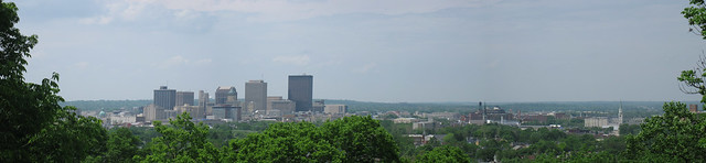 Downtown Dayton, panoramic view