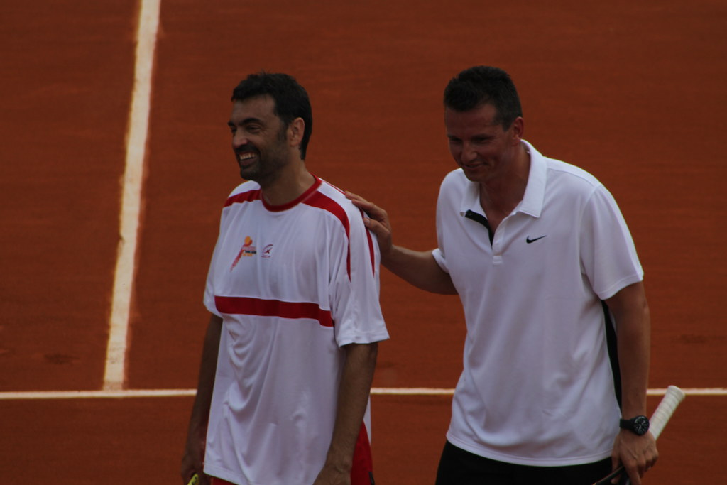 Sergi Bruguera and Richard Krajicek