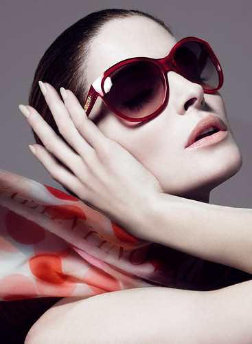 Stephanie Seymour for Valentino SS09 Eyewear Campaign