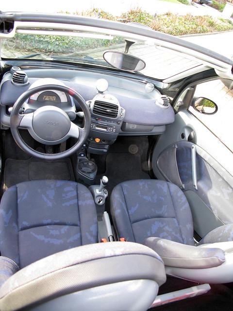 Smart Cabrio boven
