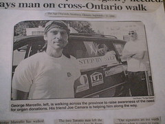 2nd Campaign ONTARIO WALK JUN-SEP 1999