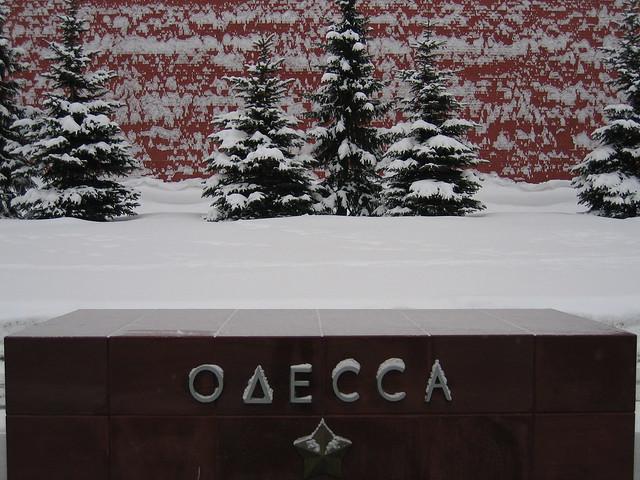 Kremlin, winter