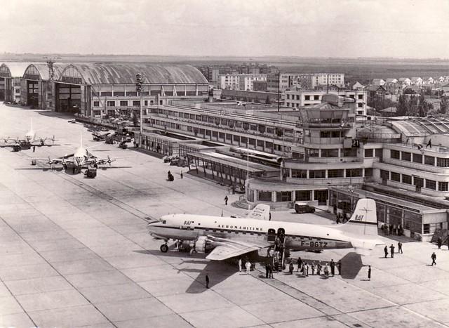 Aeroport paris le bourget super dc6 uat 1963 flickr for Bourget paris