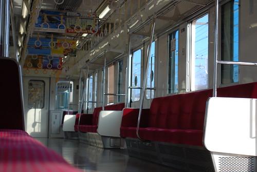 列車内光景1