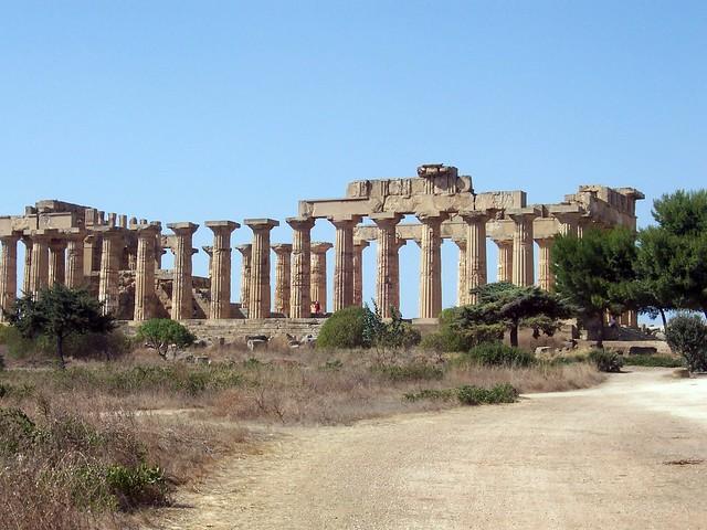Temple E, the so-called Temple of Hera (Selinunte)
