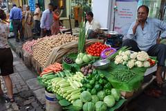 vegetable on streetmarket