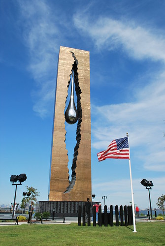 TEARDROP From Russian People & Sculptor for 9-11 Victims!! by maorlando-God sustained me 2011 walking w/ me 2012