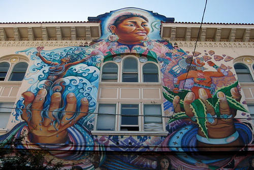 San Francisco - Mission District: The Women's Building - MaestraPeace Mural