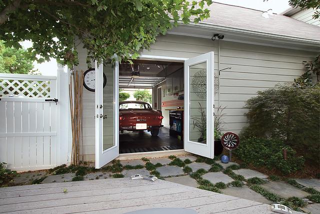 French Door Garage Doors : French doors to garage raymac remodeling deck