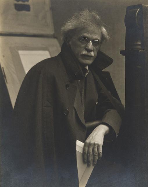 Alfred Stieglitz, New York, 1919, by Paul Strand