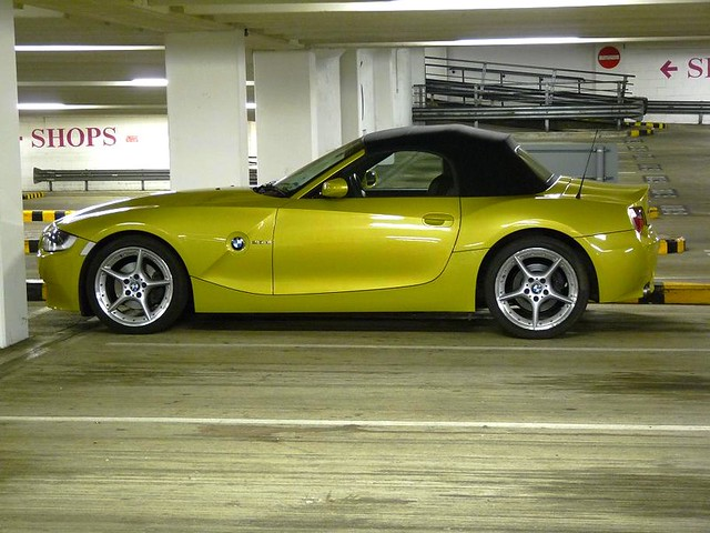 Bmw Z4 Phoenix Yellow 2006 Convertible Just To Add Some