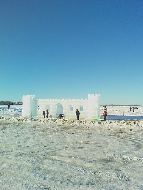 small ice castle sylvan lake alberta flickr photo. Black Bedroom Furniture Sets. Home Design Ideas