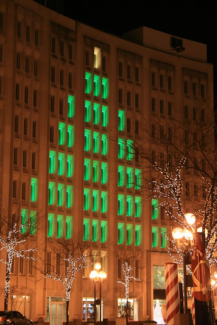 Christmas tree lights in indianapolis indiana flickr for Tree lighting indianapolis