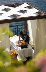 Outdoor Spa - The Cliff Bay