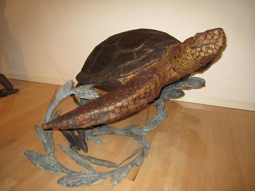 honu, turtle, metal, sculpture IMG_7491